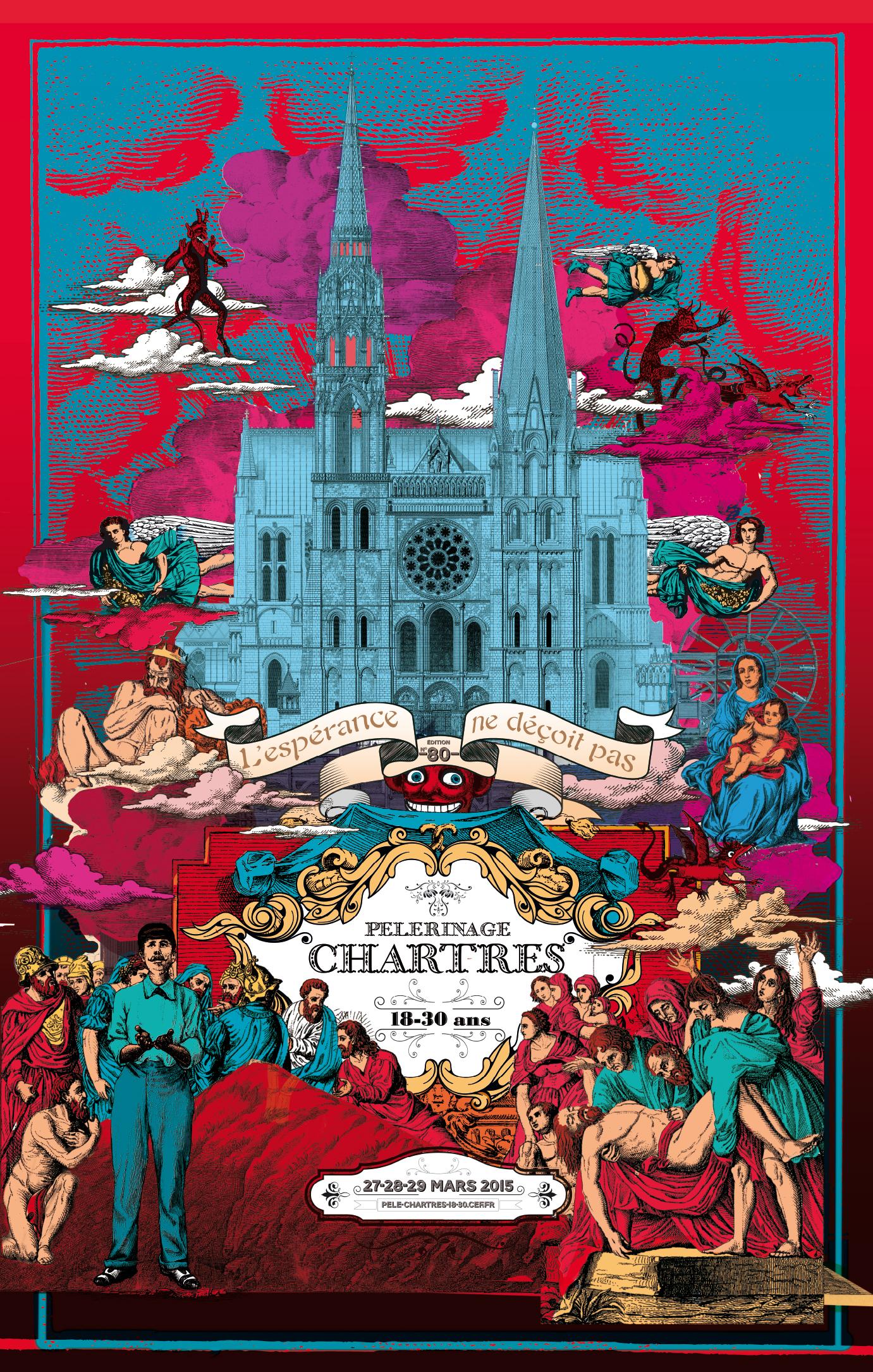 Pelerinage de Chartres 2015