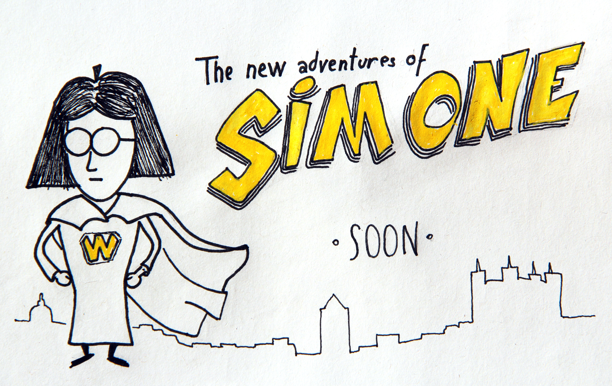 The New ADVENTURES OF SIMONE